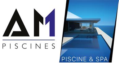 AM Piscines Logo